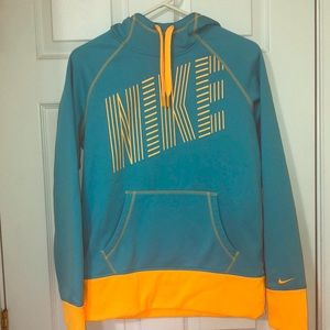 Teal blue Nike sweatshirt. Like new.